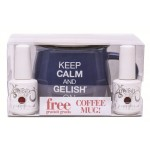 Gelish KIT COFFEE MUG + 01082 + 01079 {Holiday 2015}
