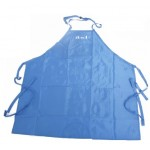IBD Apron Metallic Blue